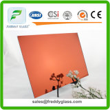 High Quality Wine Red Reflective Mirror/ Colored Mirror/
