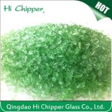 Light Green Colored Terrazzo Glass Chips