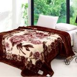 100% Polyester Super Soft Printed Mink Blanket for Sale