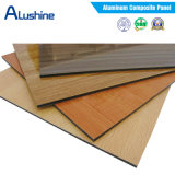 3mm Polyester Coating Wooden Color Aluminum Composite Panel ACP Sheet (1220*2440*3mm)