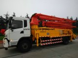 Hongda Group 28m Truck Mounted Concrete Pump with Boom
