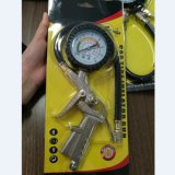 220psi Tire Pressure Inflator Gauge with Flexible Hose