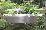 Fo-9041 Stainless Steel Rail Flower Planter Box