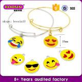 Factory Direct Sale Fashion Scalable Zinc Alloy Emoji Bracelets
