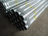 Galvanized ERW Pipe Bs1387 for Water Deliver