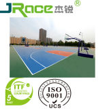 Rubber Outdoor Basketball Court Flooring Coating Sport Surface