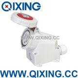 Cee/IEC IP67 Wall Mounted Socket for Industrial Application (QX1200)