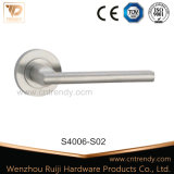 Solid Lever Handle Stainless Steel Door Latchr Lock Handle (S4006/S02)