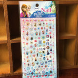 Wholesale Frozen Cartoon Nail Sticker for Kids