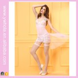 Hot Europe America Transparent Lace Skirt Slim Women Sexy Lingerie