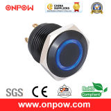 Onpow 16mm Illuminated Push Button Switch (GQ16F-10E/J/R/12V/A, CE, CCC, RoHS)
