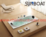 Luxury Built-in Type Enameled Steel Bathtub