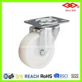 White Nylon Industrial Caster (P161-20D100X35)
