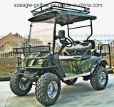 4 Seater New Golf Buggy for Sale with Flip Flop Back Seat