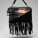2016 Best Selling Printed Stripe PU Leather Crossbody Bag Handbag