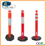 T Top Delineator Post / Plastic Bollard / Removable Parking Post