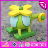 2015 New Wood Kids Toy Plane Slide, Wooden Plane Toy, Plane Toy Wood for Baby, Kids′ Wooden Toy Plane W04A188