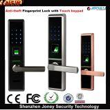 New Biometric Fingerprint Door Lock with Touch Ten Digit Kepad