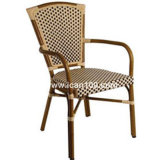 Restaurant Aluminum French Rattan Dining Chairs (BC-08011)