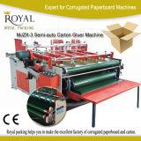 Mjzx-3 High Quality Semi-Auto Carton Gluer Machine with Ce