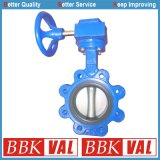 Butterfly Valve Lug Type Gearbox Operated