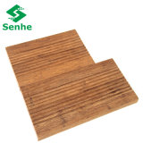 The Composite Outdoor Deck Flooring with Strand Woven Bamboo