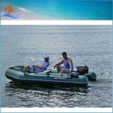 Hot Fishing Boats for Sale Sightseeing Inflatable Motor Boat Army Green PVC Boat