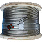 Stainless Wire Rope 1*19 Construction 8mm Diameter 316
