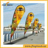Exhibition Aluminium Portable Beach Flag Display Banner Stand