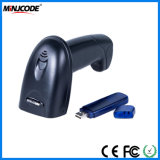 Wireless Laser Handheld 1d Barcode Scanner Reader, with Large Compacity Storage up to 400, 000 Barcodes, Ce, FCC, RoHS Approved, Mj2820
