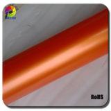 Matte Metalic Pearl Vinyl Car Wrapping Film&Orange