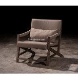 (SL-8202) Solid Wood Hotel Restaurant Room Furniture Wooden Leisure Arm Chair