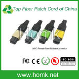 MPO Ferrule Bare Ribbon Fiber Connector