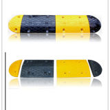 Recycled Rubber Traffic Safety Barrier