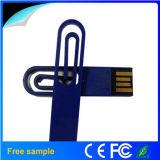 Free Custom Logo Mini Paper Clips USB Memory Stick 4GB