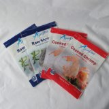 PE Nylon Aluminum Zipper Plastic Packing Bag for Food