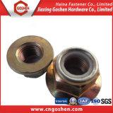 Carbon Steel Hex Nylon Insert Flange Lock Nut (M3-M30)