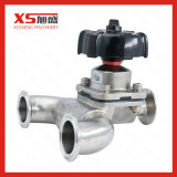 Stainless Steel Pharmaceutical U-Type Diaphragm Valve with PTFE + EPDM