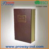 High Quality Home PU Book Safe Box
