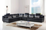 American Style Modern Leather Sofa (H-2026)