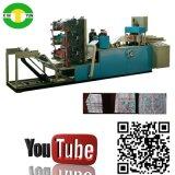 High Speed Automaic 3 Color Folding Serviette Tissue Paper Machine