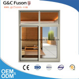 High Quality French Aluminum Modern Design Window/Tempered Glass Window for House