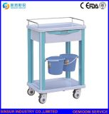 Hospital Furniture Emergency ABS Medical Treatment Cart Trolley