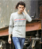Custom Mens Warm Long Sleeve Sweater with Print Logo