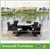 Wicker Dining Table and Chair