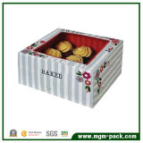 Square Paper Chocolate Packing Box with Transparent Lid