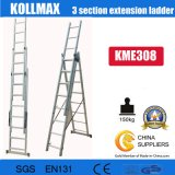 Ce/En 131 Approved High Quality 3*8 Extension Ladder