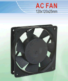 AC Cooling Fan. 120*120*25mm with Ce&UL Certification. Provide Customized Service