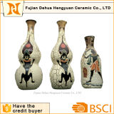 Exotic Flavor & Indian Style Ceramic Vase for Decoration