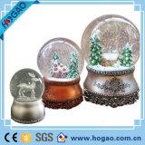 Christmas Decor Musical Snow Globe